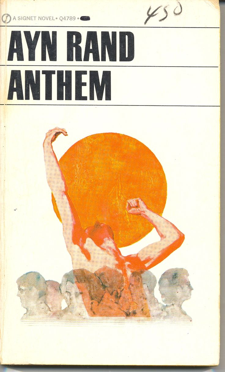 a reading report on anthem by ayn rand Buy anthem by ayn rand (isbn: 9781451578157) from amazon's book store  everyday low prices and free delivery on eligible orders.