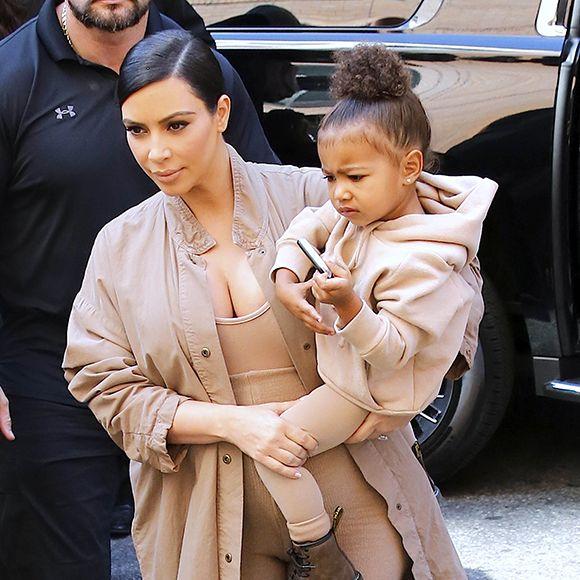 La relation mère-fille de Kim Kardashian et North West résumée en une vidéo clandestine | HollywoodPQ.com