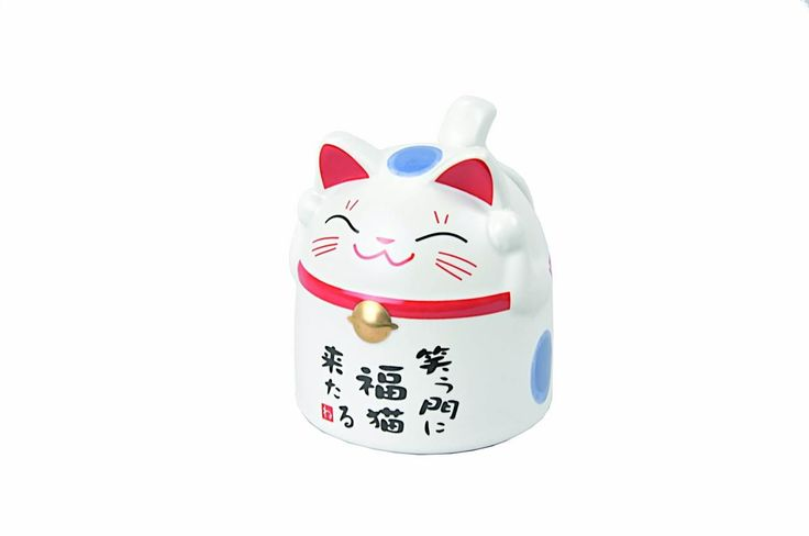 Cat Mug Blauw / The Oriental Shop