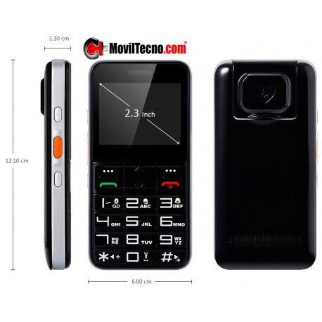 Novedoso teléfono móvil con localizador GPS ideal para personas mayores o enfermos de Alzheimer
