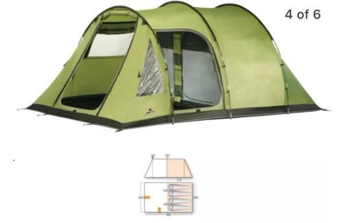 Vango #icarus 400 4 man tent - #excellent #condition - used once,  View more on the LINK: http://www.zeppy.io/product/gb/2/112159301873/