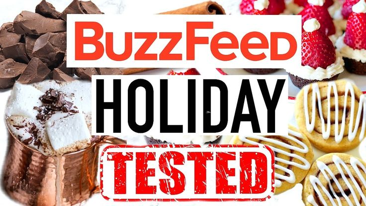 Buzzfeed Food Recipes Tested! Holiday Edition!