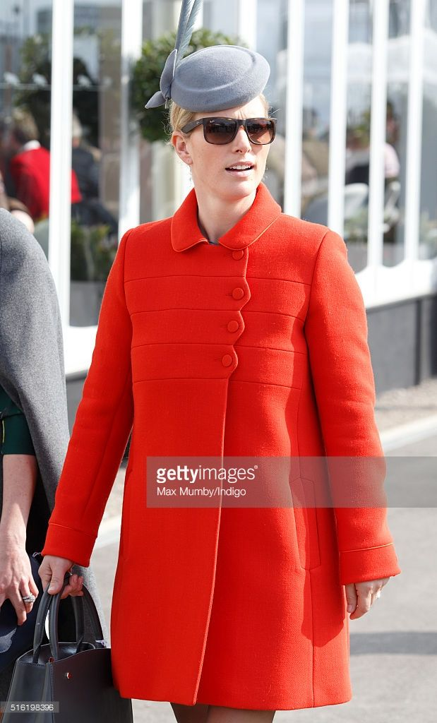 (EMBARGOED FOR PUBLICATION IN UK NEWSPAPERS UNTIL 48 HOURS AFTER CREATE DATE AND TIME) Zara Phillips attends day 3, St Patrick's Day, of the Cheltenham Festival on March 17, 2016 in Cheltenham, England. (Photo by Max Mumby/Indigo/Getty Images)
