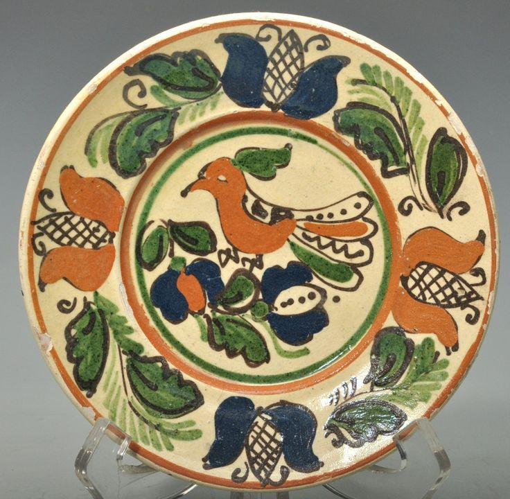 Korondi madaras falitányér, XX. sz. közepe
