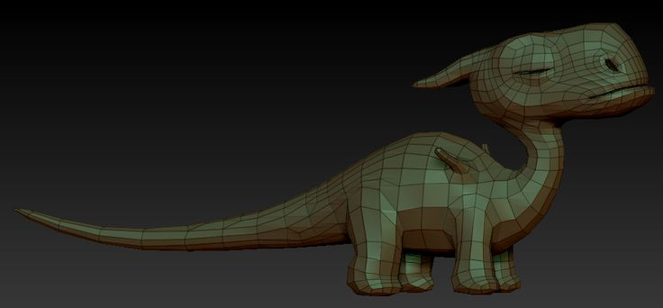 Resultado de imagen para Toon 3d animal topology