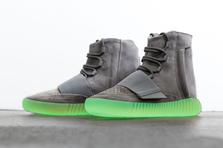 Another Look At The adidas Yeezy Boost 750 Grey Gum's Glowing Feature