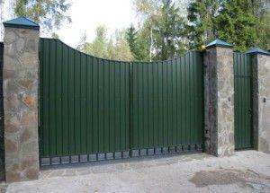 Как сделать распашные ворота своими руками?