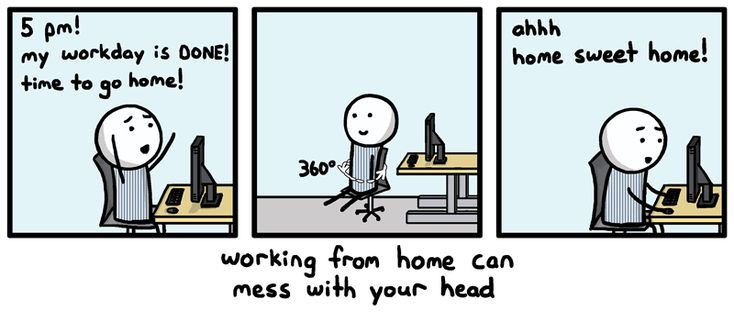 working effectively at home