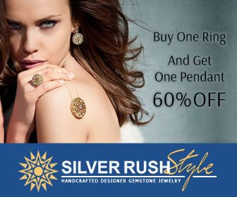 SilverRushStyle.com -  Buy One Ring And Get One Pendant 60% OFF