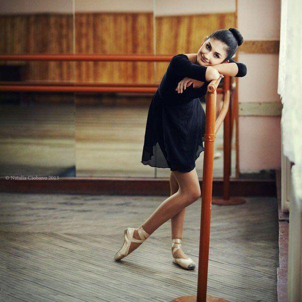Идеи для фотосессии в танцевальном зале