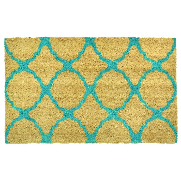 Wonderful This Doormat Is Constructed From Coconut Husk Fibers With A Durable Rubber  Backing. Coir Mats