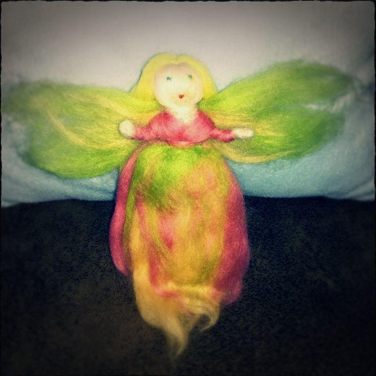 Fairy - needle felting / Tündér - tűnemezelés