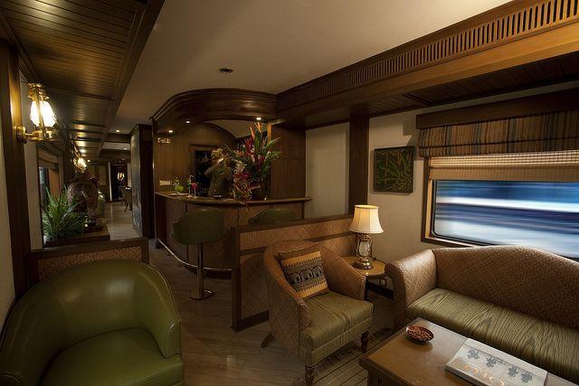 Safari Bar on board Maharajas Express