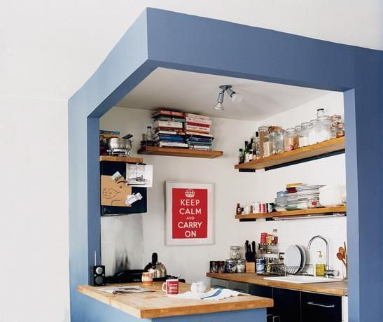 Small kitchen decorating ideas - Design small kitchen space image ...