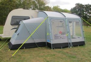 Kampa Rally Plus 260 includes annexe 2014