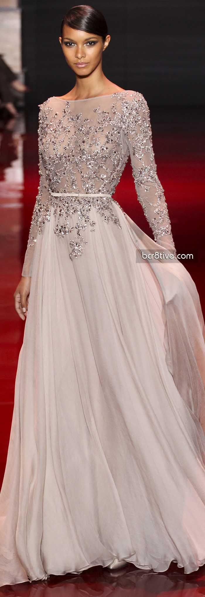 Elie Saab FW 2014 Haute Couture An evening in this gown would make me feel like Cinderella :)