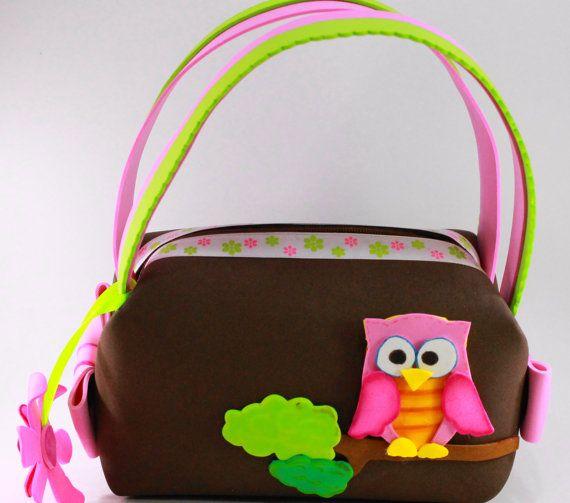 OWLY Little Girl Purse by SweetBellaLuna on Etsy, $12.00