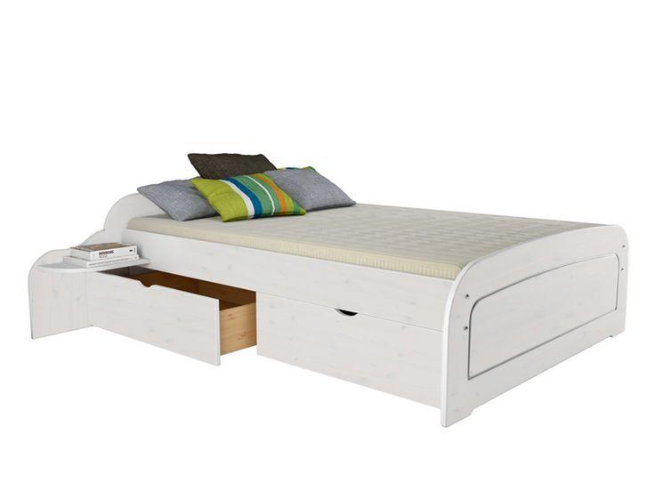 Bett 140x200 günstig weiß  Die besten 25+ Bett 140x200 günstig Ideen auf Pinterest | Bett ...