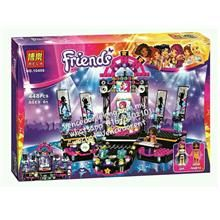 Lego Compatible Bela 10406 Friends series Pop Star Show Stage building