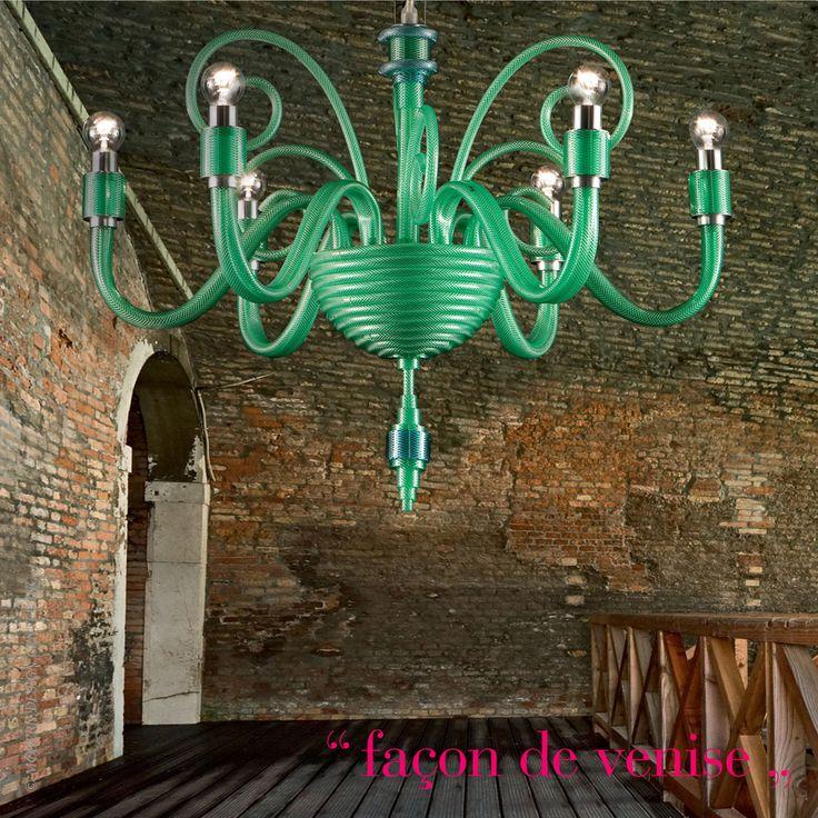 Facon De Venise Barbara Chandelier Bright Colorschandeliersindoor