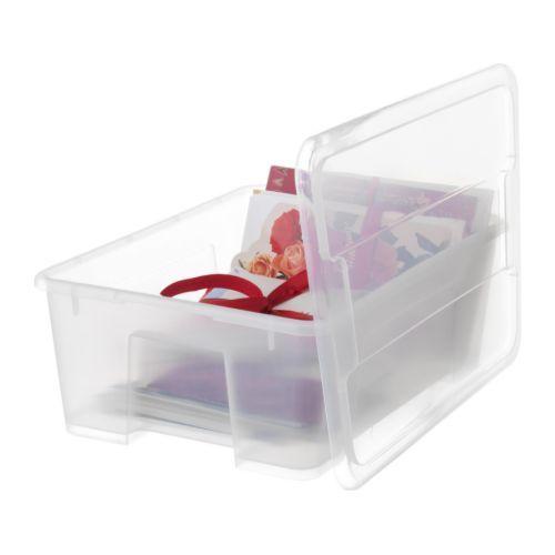samla box with lid black. Black Bedroom Furniture Sets. Home Design Ideas