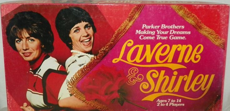 Laverne and Shirley Vintage Board Game Making Your Dreams Come True 1977 #ParkerBrothers