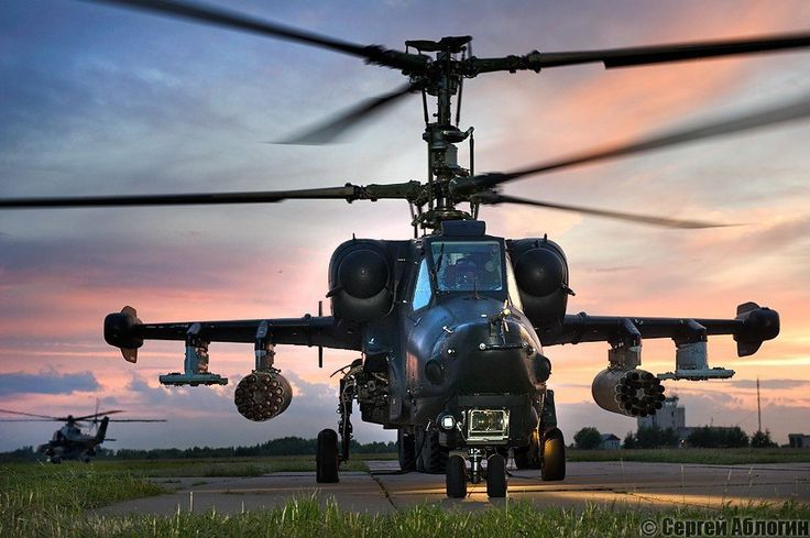 """bmashina: """"Helicopter """"Black shark"""" is a unique machine as for flight characteristics and electronics. This is a Russian single attack helicopter, designed to defeat mechanized and armored vehicles, human and air targets on the battlefield. My first..."""