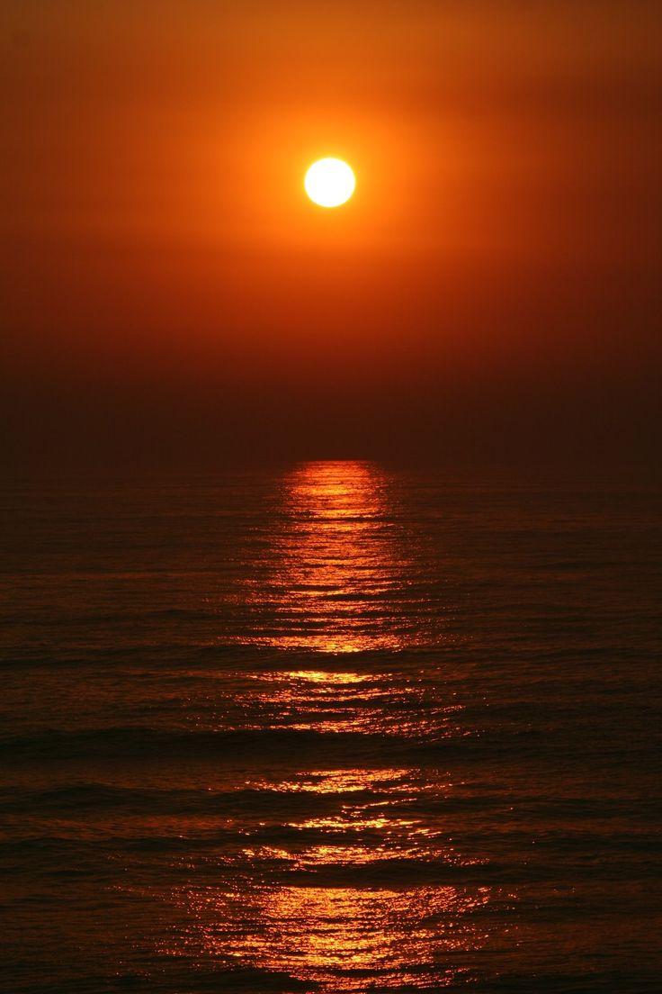 pôr-do-sol | Pôr-do-sol na praia