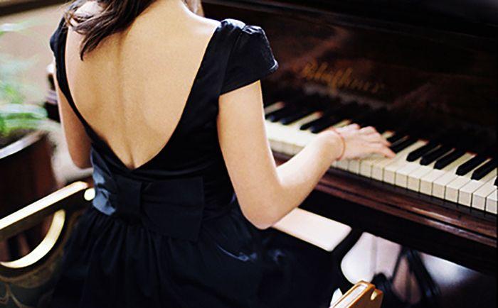 девушка играет на пианино рисунок - Поиск в Google