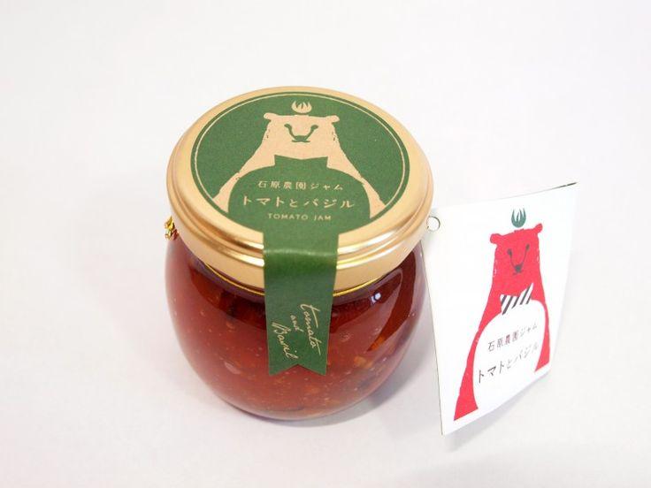 Basil and tomato jam Ishihara farm