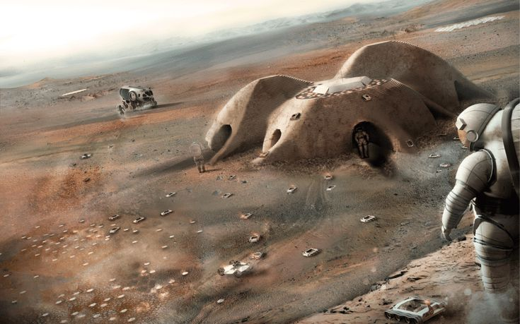 NASA accepted more than 165 applications for a Mars habitat design contest this past year as part of their Centennial Challenges program. While the ultimate winner was the 'Mars Ice House,' there were a number of promising and intriguing designs.