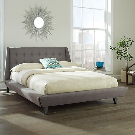 Fashion Bed Group Prelude California King Bed in Ash LP-B71847
