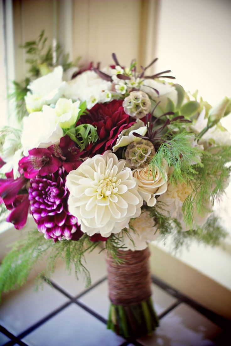 56 best wedding flowers images on pinterest bridal bouquets natural wedding bouquet the little branch wedding dhlflorist Images