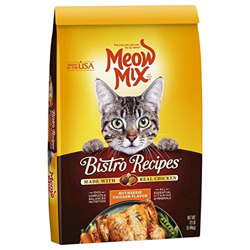 505 best cat food recipes images on pinterest cat food pet meow mix bistro recipes rotisserie chicken flavor dry cat food 12 lb continue to forumfinder Image collections