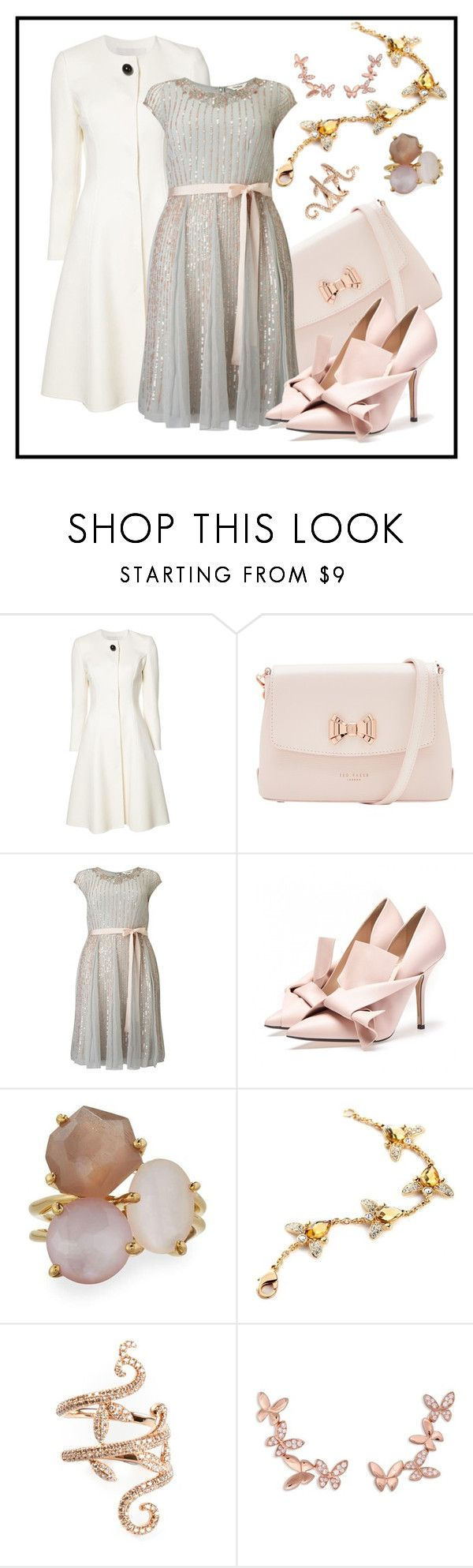 """#Stylish Turkish ♥ Polyvorians"" by edin-levic ❤ liked on Polyvore featuring Carolina Herrera, Ted Baker, Studio 8, Ippolita, Elise Dray and Anyallerie"