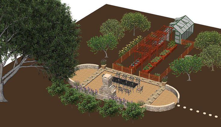 Backyard Orchard Layout Google Search Orchard Design