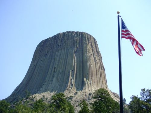Devils tower Sturgis South Dakota does anybody remember this from Close Encounters of the Third Kind