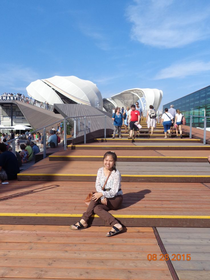 Pavilion of #Germany from Outside | #Expo2015 | #ExpoMilano2015