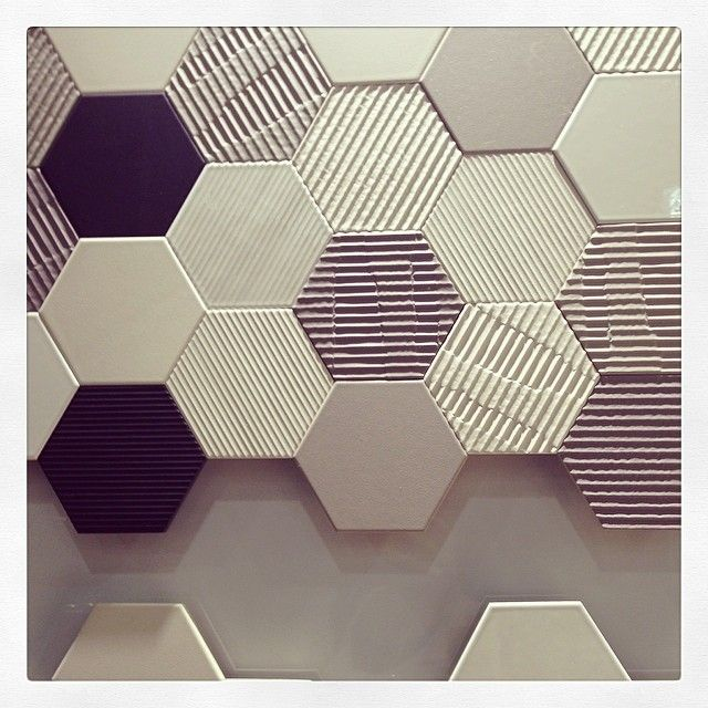 #Hexagon tiles from High Style.Interiors Design, Tile Pattern, Hexagons Tile