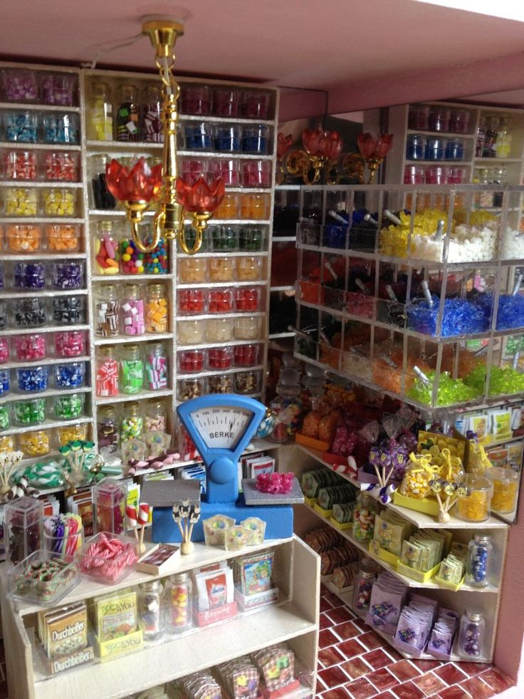 Miniature Candy Store