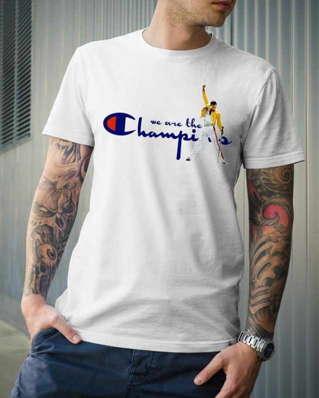 545c0a88e Freddie Mercury We Are The Champions Shirt in 2019 | Product