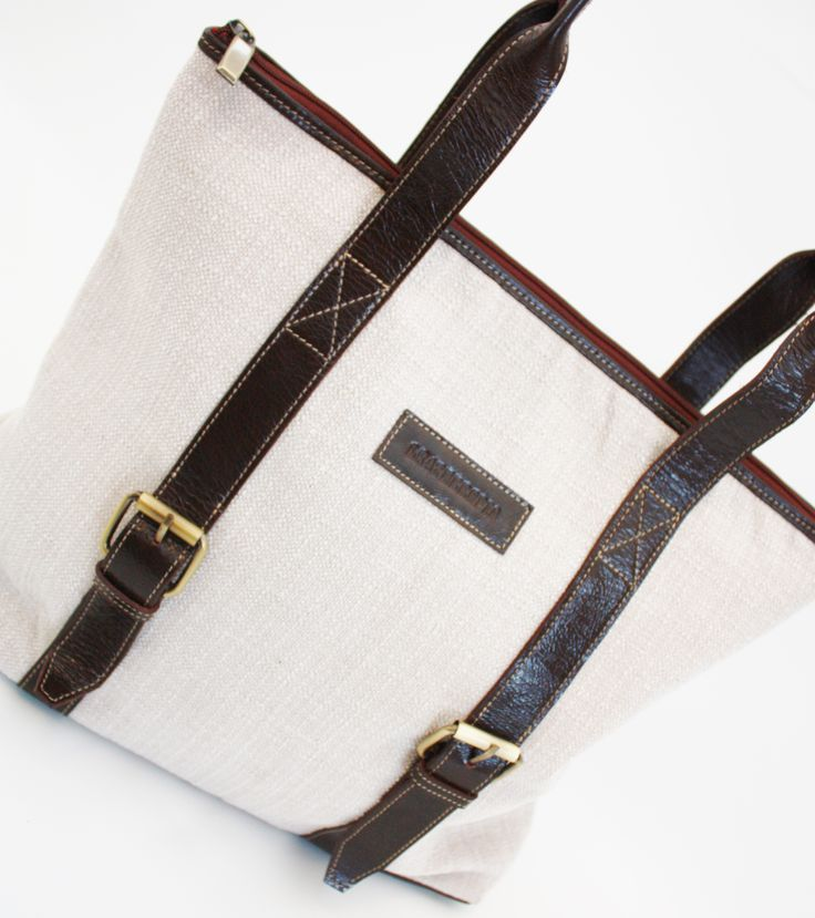 Leather & Jute Bags available at LEATHEROPIA. These elegant bags are ideal for work, play or party.  Price: $59 CAD.