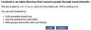 Meet People Online With Facebook: Sign Up With Facebook
