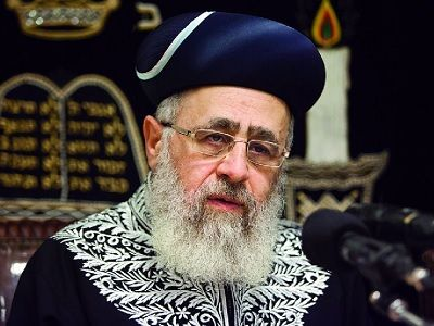 Chief Rabbi Permits the Killing of Palestinians Carrying Knives | Not only does he support this, he suggests it. Zionism is a very sick and violent thing ... kd