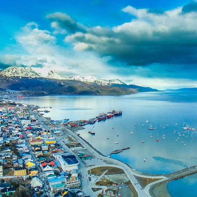 discoversouthamericaBeautiful Ushuaia Argentina, the worlds southern most city and gateway to Antarctica
