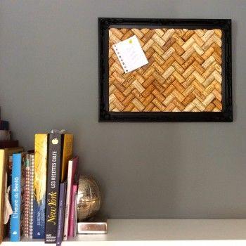 DIY bouchons en liege - tableau d'affichage - corks DIY - www.pierrepapierciseaux.be