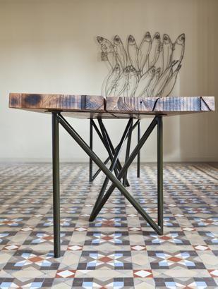 sandy brunner Architecture / table 1 / photo ©Marcela Grassi