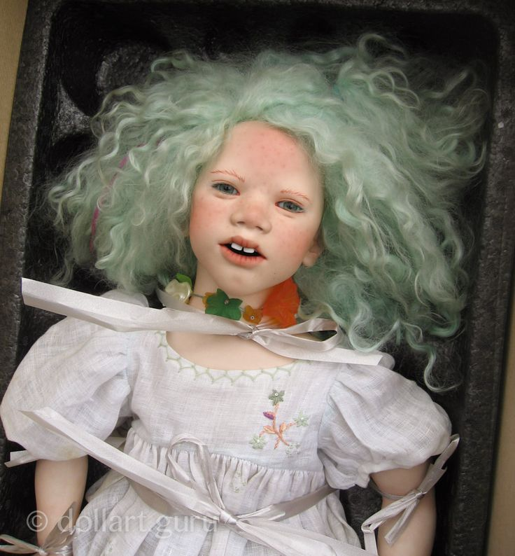 Lill. Коллекционная фарфоровая кукла Annette Himstedt | Doll Art Guru