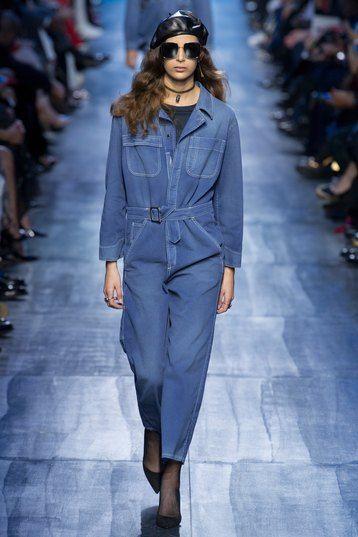 Новый синий: Мария Грация Кьюри и её вторая коллекция для Dior   Журнал Cosmopolitan