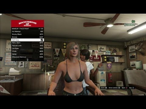 GTA 5 Online She's New Hairstyle (Grand Theft Auto 5 Online)
